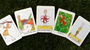 Zauberhafte Karten begleiten dich