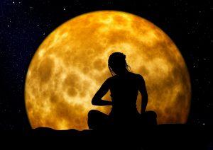 woman-moon