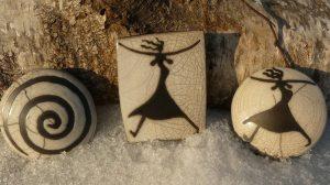 Fliegende Brüste auf Keramik!
